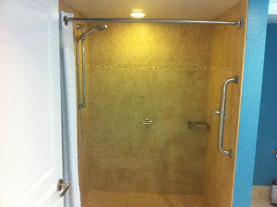 Holiday Inn Resort Daytona Beach Oceanfront: Shower