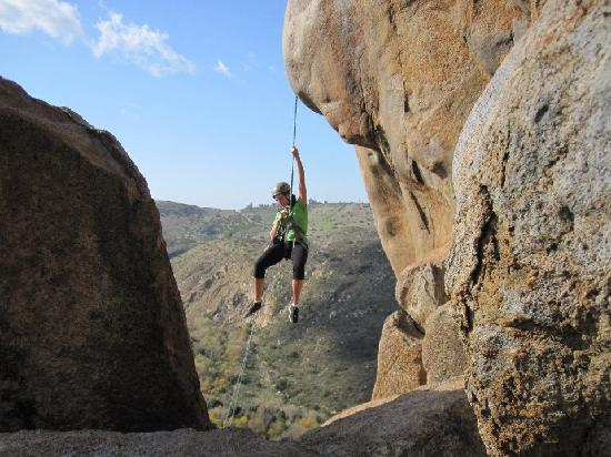 Arcadian Ascents : repelling