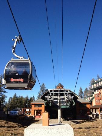Forest Suites Resort at Heavenly Village: Heavenly Gondola.