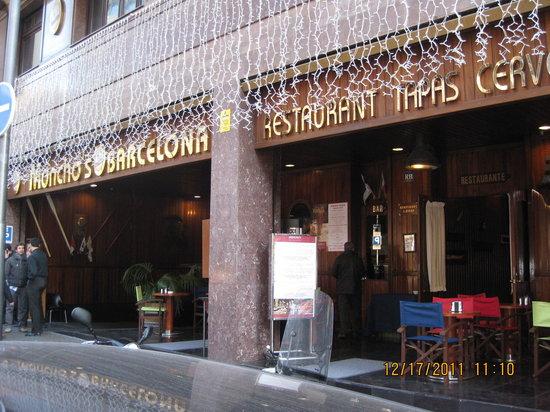 moncho 39 s barcelona barcelone la dreta de l 39 eixample restaurant avis num ro de t l phone. Black Bedroom Furniture Sets. Home Design Ideas