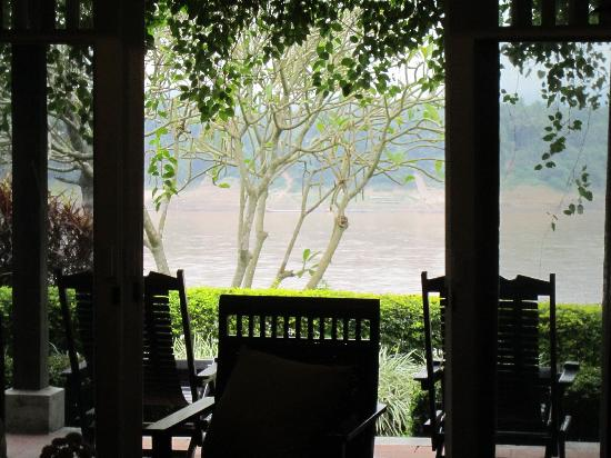 The Grand Luang Prabang Hotel & Resort : View from Bedroom