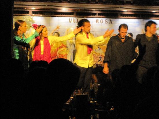 Tablao Flamenco Villa Rosa : The whole cast