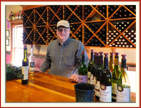 Stony Knoll Vineyards: A photo of the owner - Van Coe