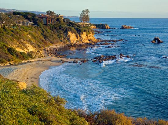 Newport Beach, Kalifornien: Beautiful shores of Corona Del Mar