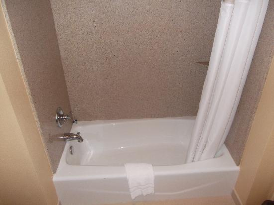 Cocopah Resort & Conference Center : Bathtub with lots of marble