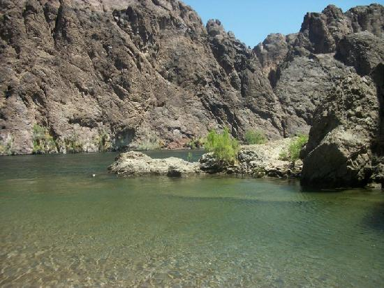 Gold Strike Canyon Hot Springs: colorado river
