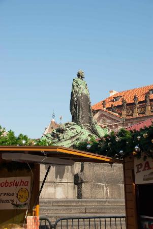 Jan Hus Monument: Jan Hus profile pic