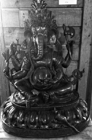 graced by Ganesha upon entry