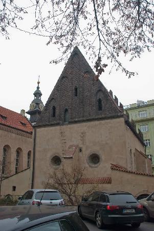 Jewish Museum in Prague: Simple little church in the Jewish Quarter