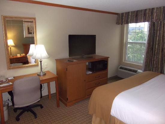 Holiday Inn Express Phoenix Airport (University Drive): room