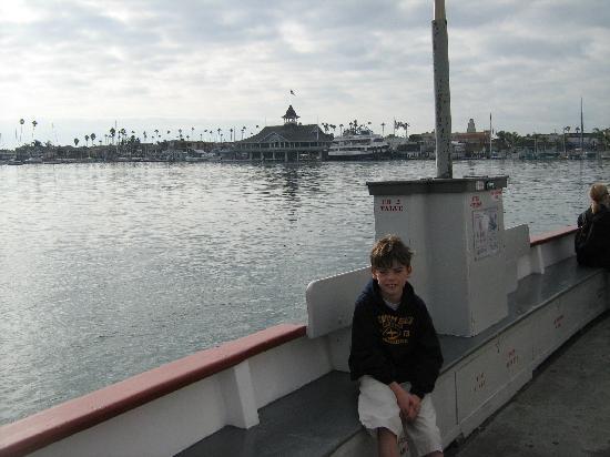 Newport Beach, Kaliforniya: On the Balboa Island Ferry