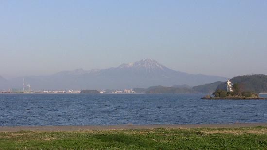 Nakaumi Sea: Some breathtaking views from Yasugi. Mt. Daisen.