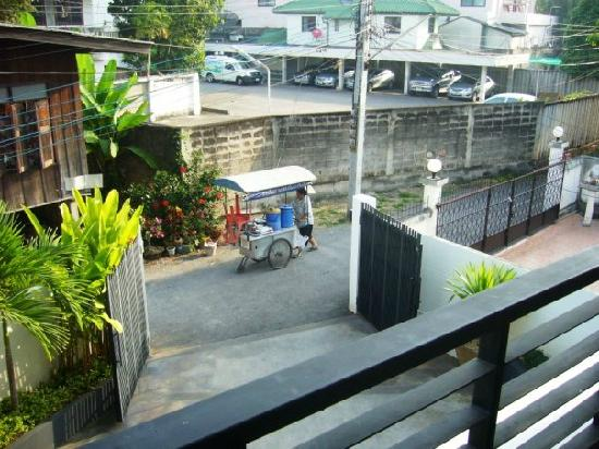Studio 99 Serviced Apartments: outside balcony