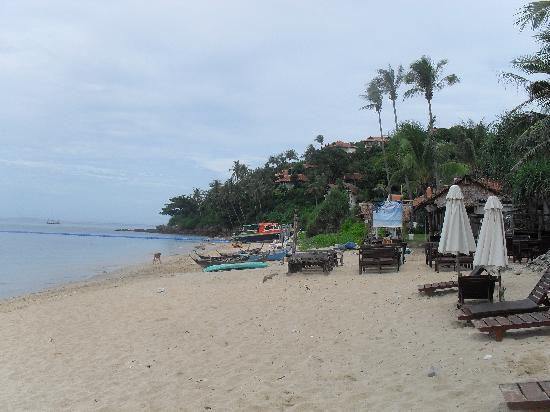 Lanta Palace Resort & Beach Club: Ifrån stranden på morgonen.
