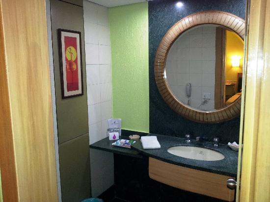 The Senator Hotel: Restroom