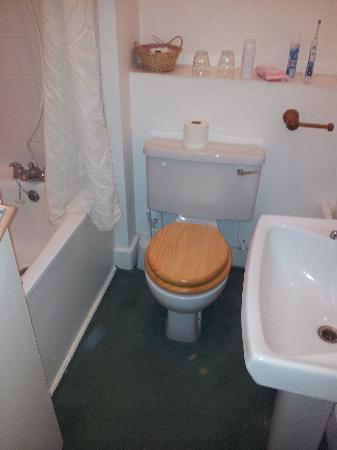 Hobart Hall Hotel: No frills bathroom...