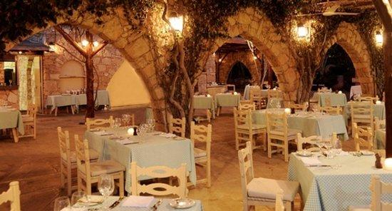Le Vieux Village Restaurant at Le Meridien Limassol, Cyprus hotel
