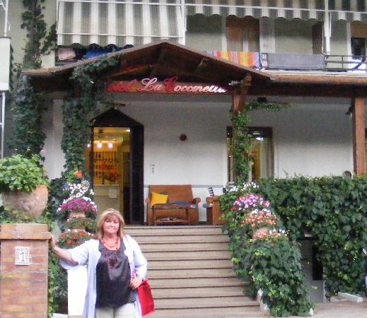 """Hotel La Coccinella: """"La Coccinella"""", main entrance"""