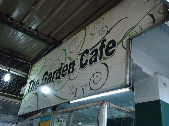 The Kandy Garden Cafe: the garden cafe