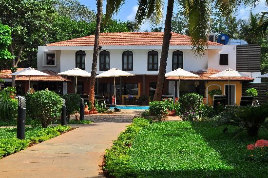 Citrus Goa: View within the hotel