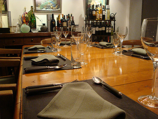 Casa SaltShaker : Our table, ready... for you!
