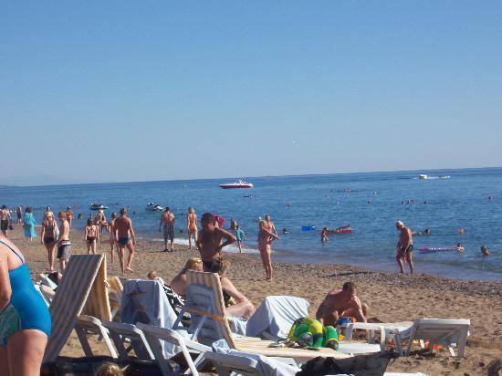 Otium Eco Club Side: la plage de l'hôtel