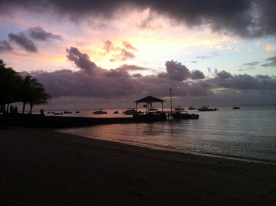 Paradis Beachcomber Golf Resort & Spa: our little beach