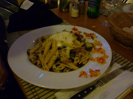 Pizzeria Venezia: One of the pasta meals