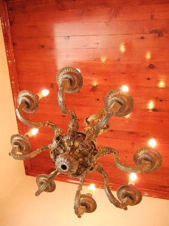 Town Hall: beutiful cedar ceilings
