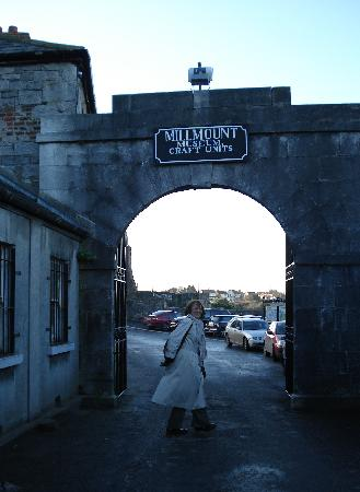 Drogheda Museum Millmount: Entrance to Millmount museum