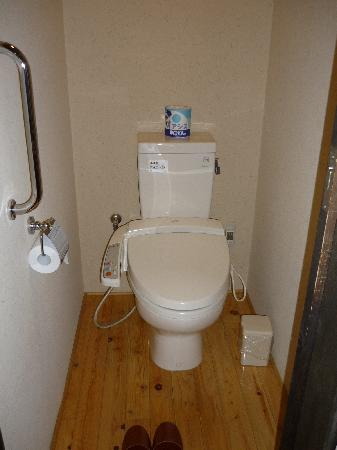 Sengokuhara Shinanoki Ichinoyu: Heated toilets for winter is fantastic