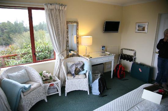 Bellbird Lodge: The suite corner