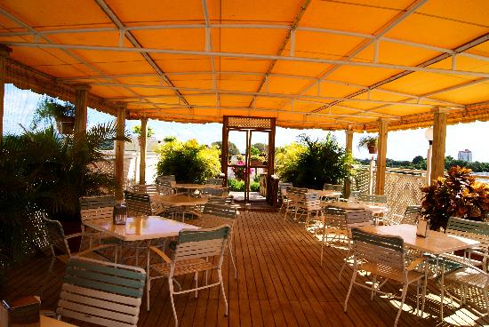 Hotel Melia Ponce: The charming morning breakfast  site