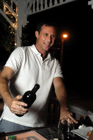 Rumfish y Vino: Owner John