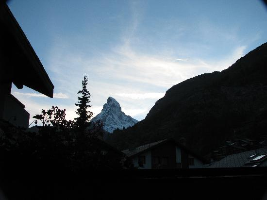 Admiral Hotel : The matterhorn from your balcony