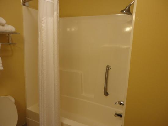 Holiday Inn Express Anniston / Oxford: tub/shower