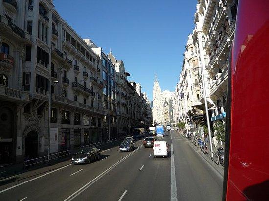 Madrid City Tour : la gran via