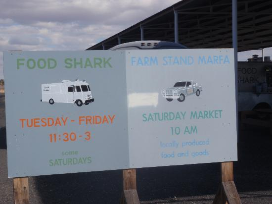Food Shark: A most welcome sign, especially if you're hungry!