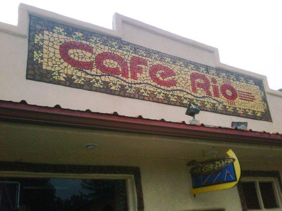 Cafe Rio: street view