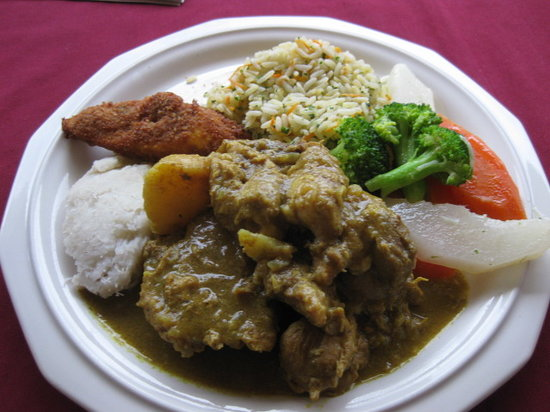 Teluk Marigot, St. Lucia: Juliette's Chicken Curry