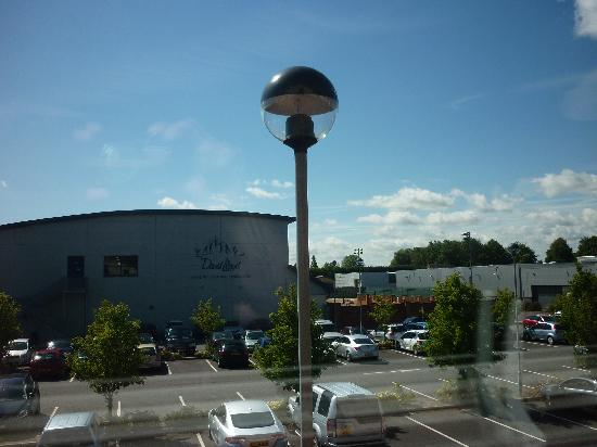 Premier Inn Bromsgrove Central Hotel: View from our Room