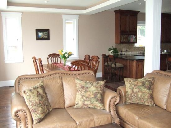 Eagle Rock Bed and Breakfast Chemainus: Guest Living Area