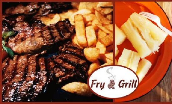 Fry and Grill: Comidas.