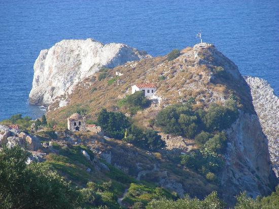 Skiathos, Grækenland: Il Kastro