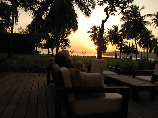 Grand Hyatt Goa: enjoying Grand Club!