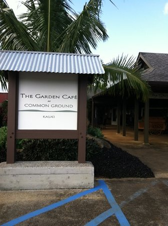 The Garden Cafe at Common Ground