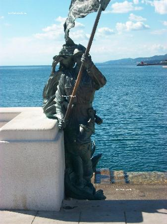 Trieste, İtalya: molo