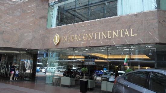 Intercontinental Wellington Outside The Hotel