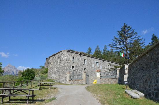 Bardonecchia, Italy: L'entrata del forte