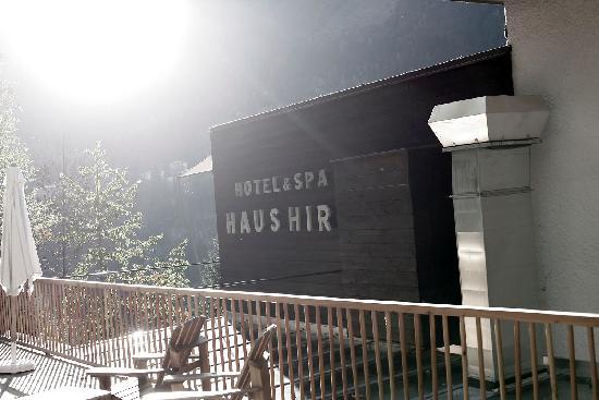 Haus Hirt: Vor dem Hotel